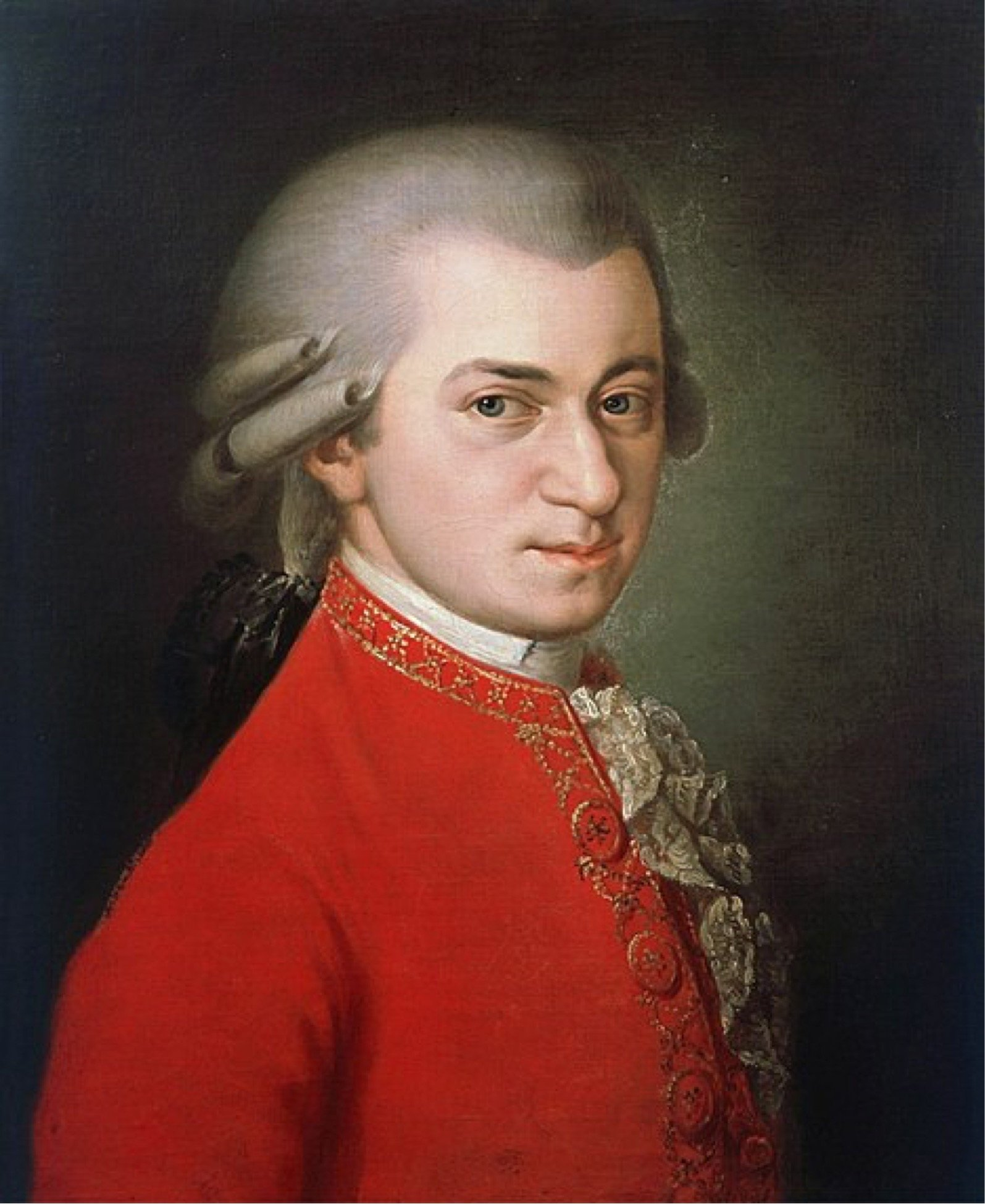 Mozart painting