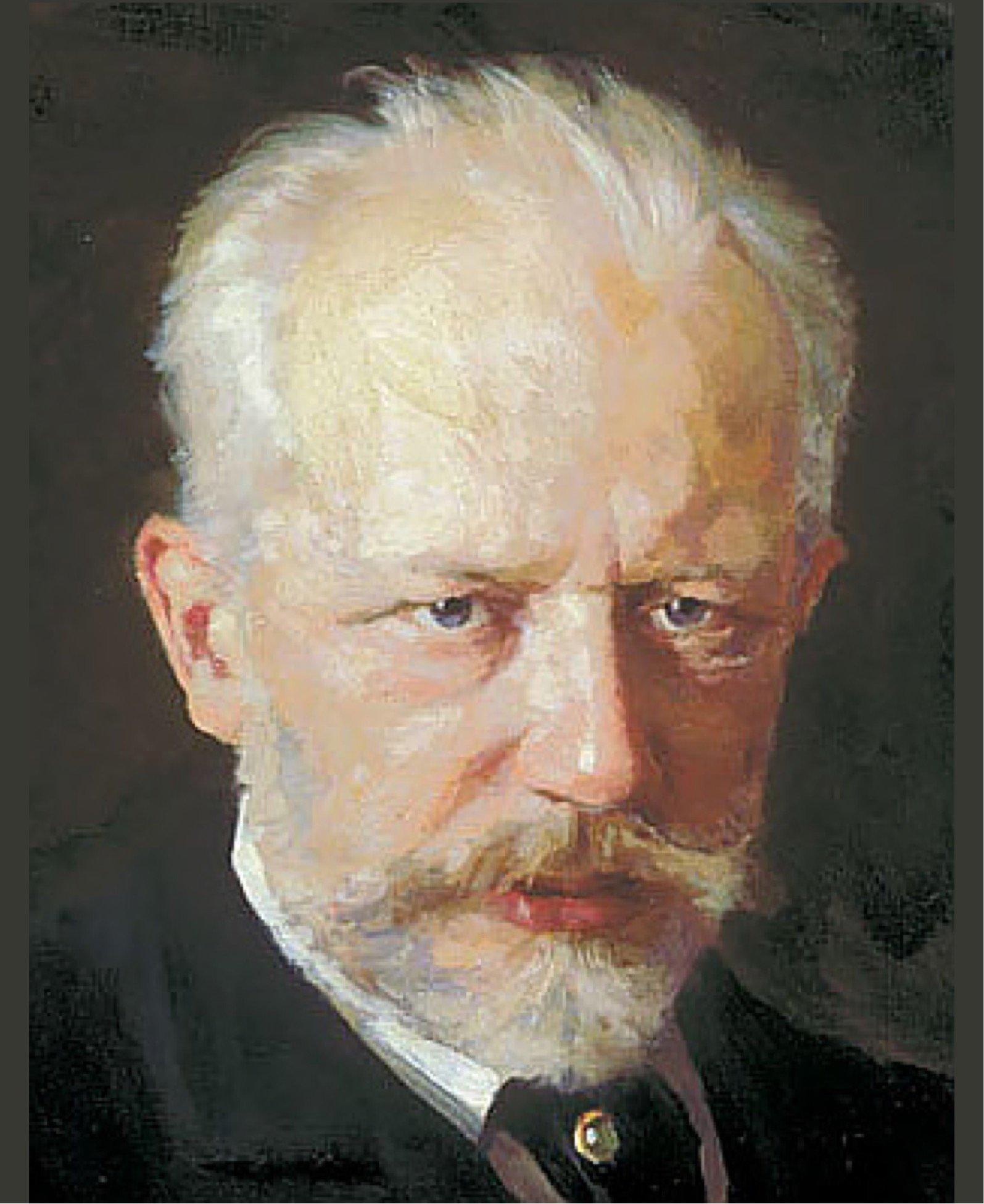 Tchaikovsky Painting